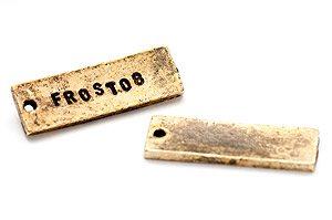 Vintage tag. stansbar 30x10mm