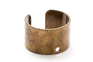 Vintage Ear cuff med hål 6mm Ø10