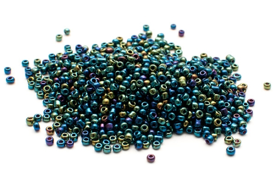 Seed beads 11/0, 2mm, Kall MIX AB
