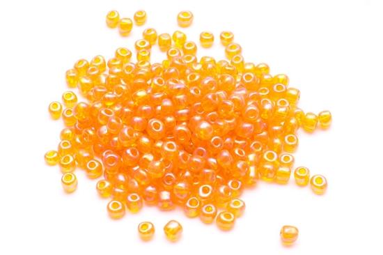 Rocailles Orange skimmer 4mm