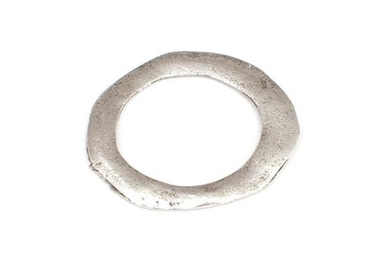 Platt metallring Barock 25mm