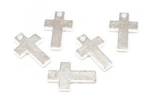 Metallkors platta grova 5st