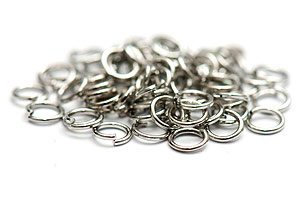 Antiksilver bindringar 5mm