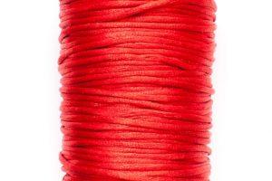 STORPACK Satintråd Rattail 2mm Röd