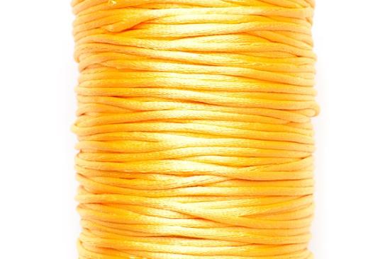 STORPACK Satintråd Rattail 2mm Gul