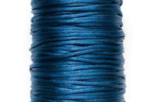 STORPACK Satintråd Rattail 2mm Blå