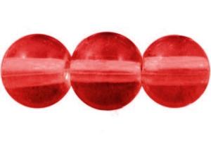 STORPACK Glaspärlor 8mm Röd