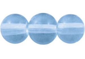 STORPACK Glaspärlor 8mm Ljusblå
