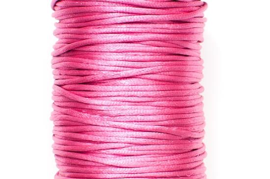 Satintråd Rattail Rosa 2mm