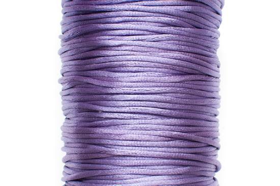 Satintråd Rattail Lila 2mm