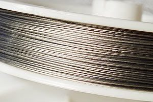 Plastad Wire 0.38mm Silver