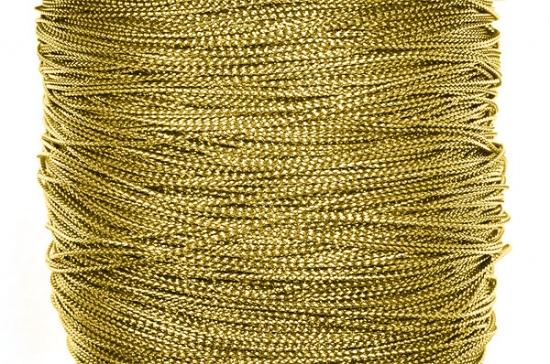 Glittertråd 1mm Guld