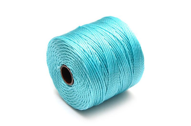 Pärltråd S-Lon Bead cord Turkos