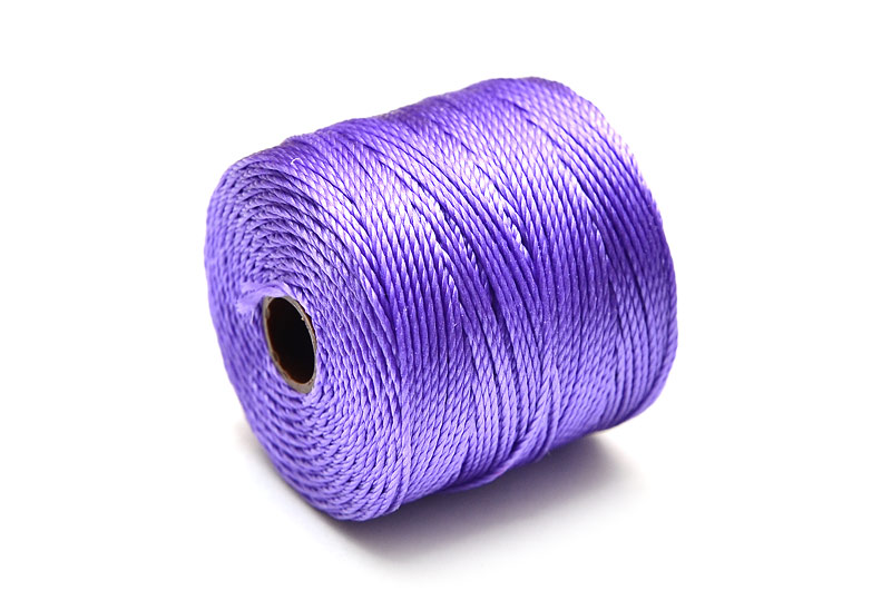 Pärltråd S-Lon Bead cord Lila