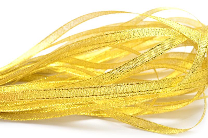 Sidenband Guld 6mm