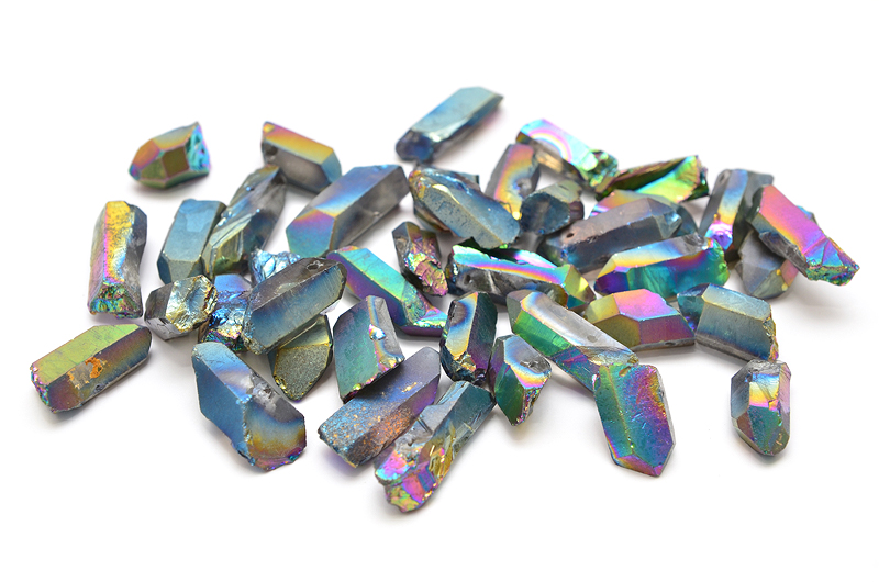 Bergskristallspets Electroplated