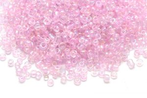 Seed beads 11/0, 2mm, transp. Ljung AB