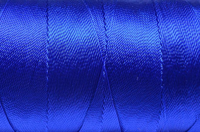 Tvinnad nylontråd 0,6mm Blå