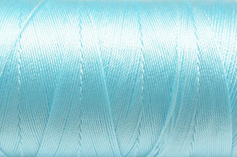 Tvinnad nylontråd 0,6mm Ljusblå