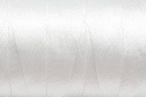 Tvinnad nylontråd 0,6mm Vit