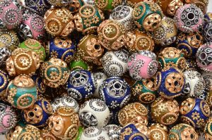 Indonesia beads 13~15mm