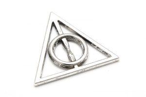 Antiksilver connecter Spirit symbol