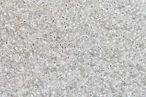 Silver-Lined Crystal, TOHO seed beads 8/0 (3,1mm) 10g