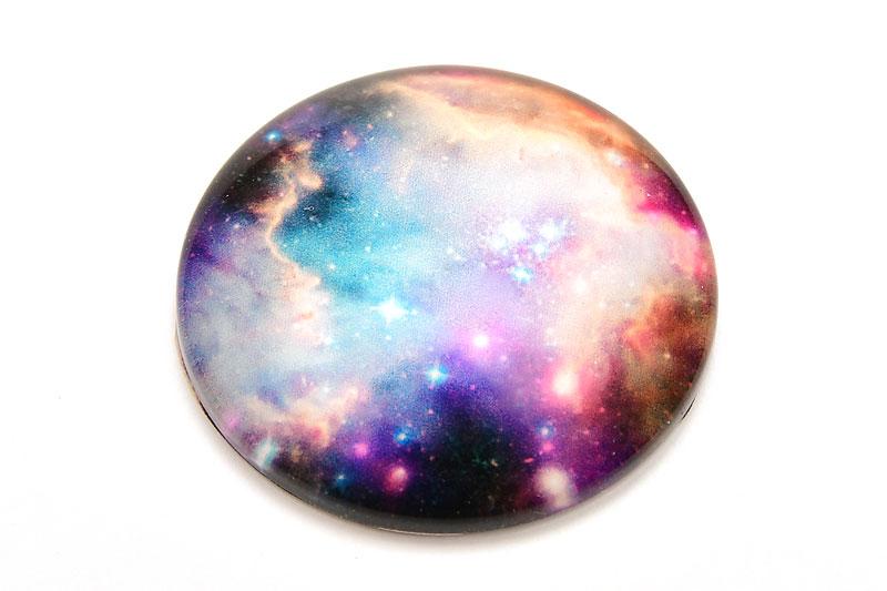 Glascabochon Galaxy 25mm