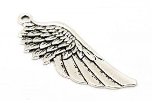 Antiksilver berlock, Stor vinge