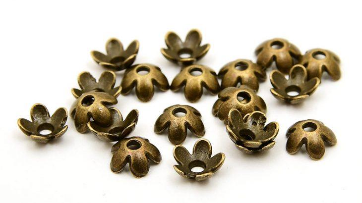 Vintage Pärlhattar Blommor