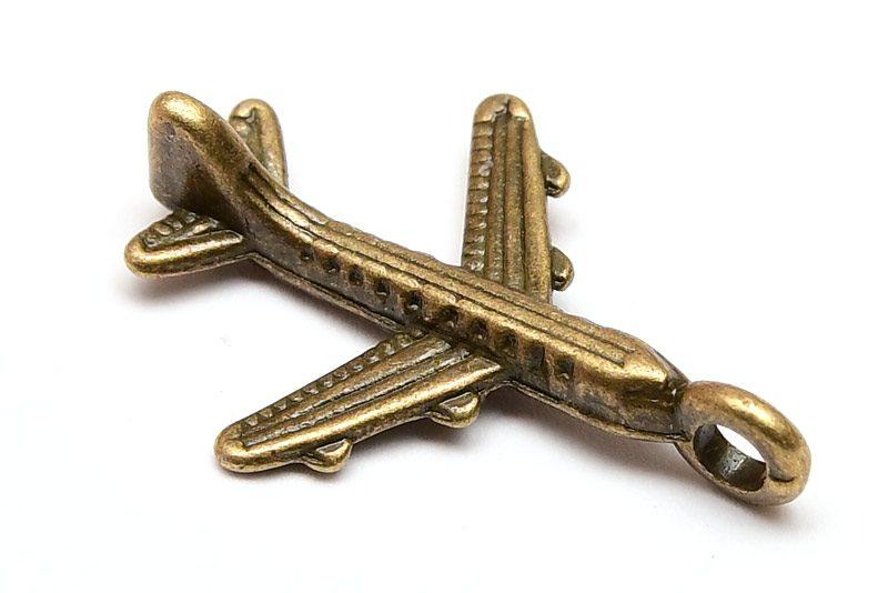 Vintage berlock Flygplan