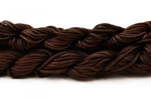 Nylontråd Mörkbrun 2mm, 12m
