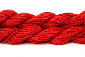 Nylontråd Röd 2mm, 12m