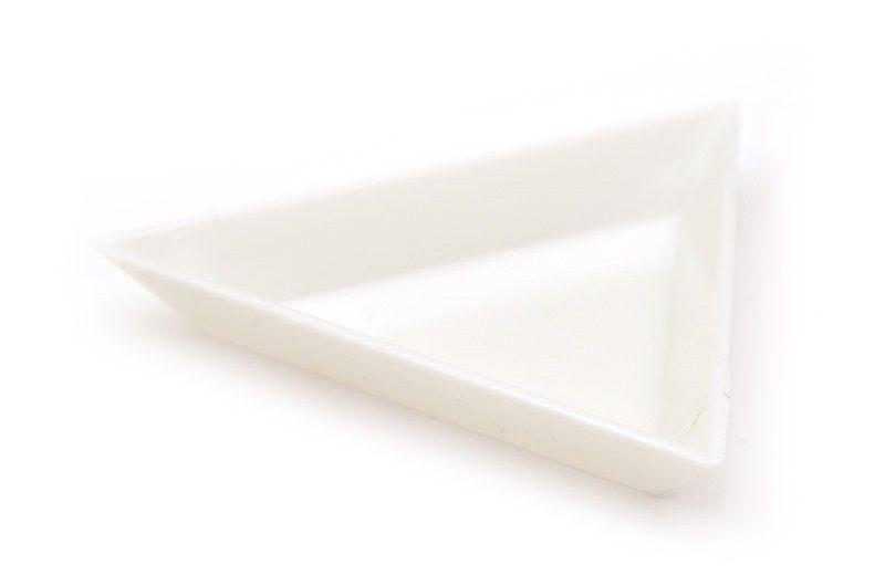 Pärlfat i plast för sortering, 7cm