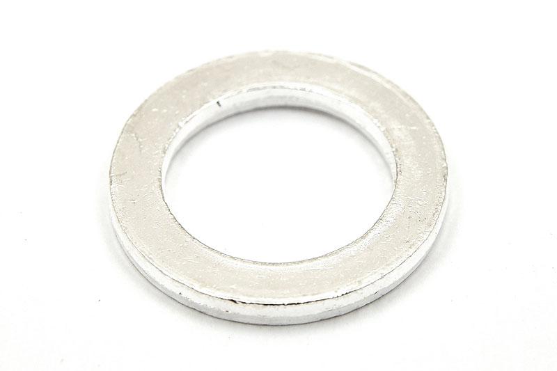 Stansbar metallring, Silverpläterad, 22mm