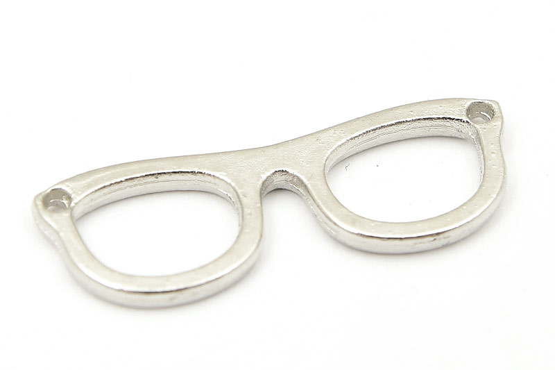 Antiksilver berlock, Glasögon