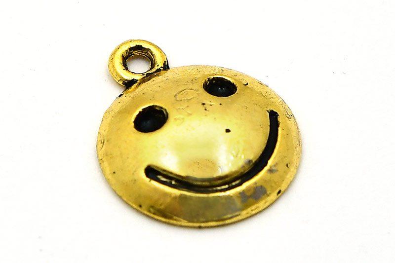 Antikguld berlock, SMILE