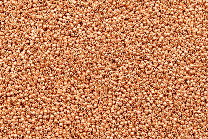 PermaFinish - Galvanized Rose Gold, TOHO seed beads 11/0 (2,2mm) 10g