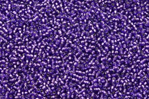 Silverlined Purple, TOHO seed beads 11/0 (2,2mm) 10g
