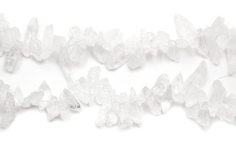Rå bergskristallhänge ofärgad