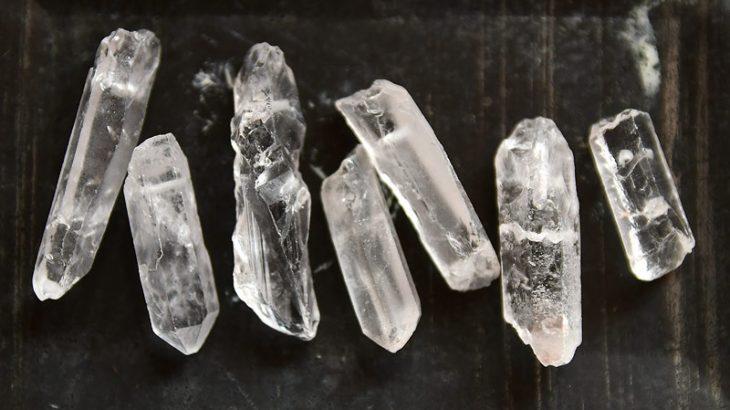 Bergskristallspets Klar ofärgad 3st