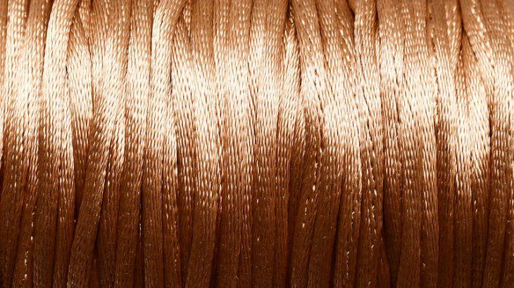 Satintråd Rattail Guld 2mm