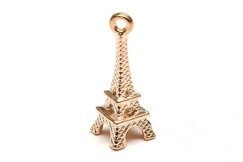 Ljust guld Berlock, Eiffeltornet Paris