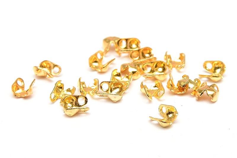 Guldpläterade Kulkedjegömmor 1,5mm