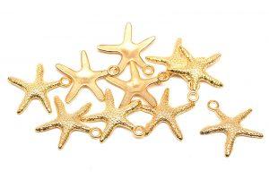 Guldpläterade Sjöstjärnor