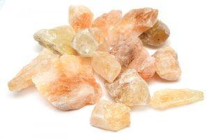 Råhuggen Citrin, stor kristall utan hål