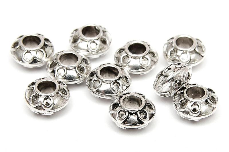 Metallpärlor Tefat 8x5mm