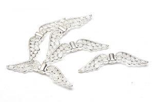 Silverpläterade vingar, Änglavingar