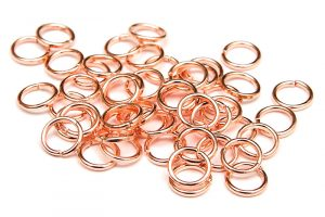 Roséguld bindringar 5mm