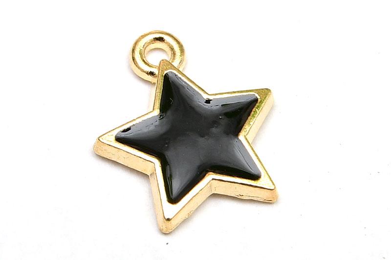 Emaljerad berlock, Svart stjärna